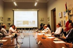 Reunión en Palacio de Gobierno