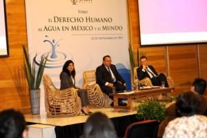 Foro sobre el Derecho Humano al Agua en México y el Mundo