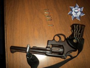 Rosendo Alvarado Miguel, de 38 años de edad, portaba dos armas de fuego