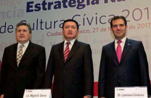 """Presentan """"Estrategia Nacional de Cultura Cívica 2017-2013"""", elaborada por el Instituto Nacional Electoral."""