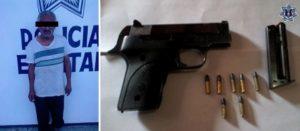 Ambos sujetos carecen de licencia para portar armas de fuego.