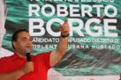 Borge suspende temporalmente campaña por luto, en Quintana Roo