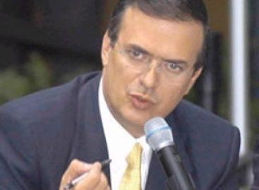 En plena campaña, Ebrard ofreció facilidades a empresarios de Oaxaca