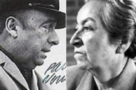 Mistral y Neruda son figuras en antología