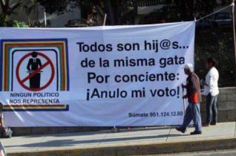 Campaña del Voto Nulo no promueve el abstencionismo