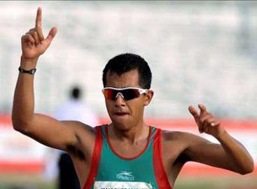 Gana mexicano Eder Sánchez oro en prueba de marcha 20 kms varonil