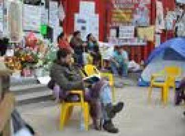 Huelguistas activos del Sindicato Mexicano de Electricistas