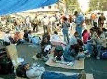 Decreta sección 22 receso en su jornada de movilizaciones en Oaxaca