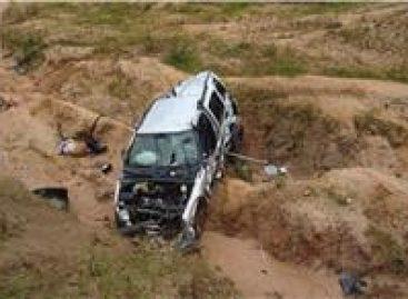Deja un muerto y dos heridos accidente en autopista