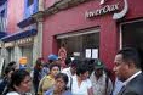 Demanda defraudados devolución de ahorros en Oaxaca