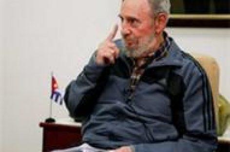 El Imperio impidió a AMLO asumir el mando: Fidel Castro
