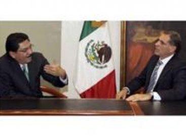 Dialogo: Ulises Ruiz Ortiz y Gabino Cué establecen compromisos