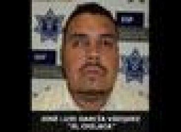 """Captura la PF a José Luis García Vázquez, a""""El chilaca"""""""