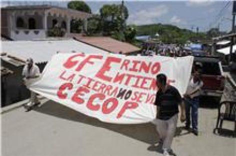 Conmemoran siete años de resistencia contra la presa La Parota
