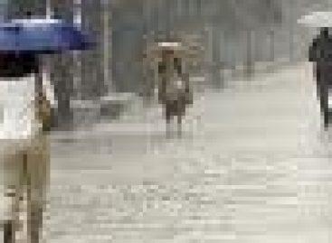 Caen lluvias intensas en Veracruz, Tabasco, Guerrero y Oaxaca