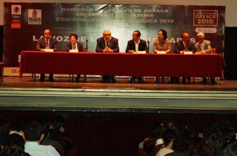 """Inauguran ciclo """"La Voz de las Universidades"""", en Oaxaca"""