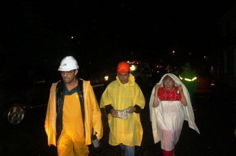 Provoca la lluvia severos daños en capital de Oaxaca