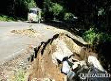 Dañada el 70 por ciento de la red carretera en la entidad: CAO