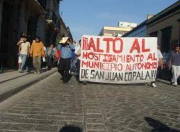 Rechazan diálogo propuesto por Lona Reyes e inician huelga de hambre  los triquis del Municipio Autónomo de San Juan Copala