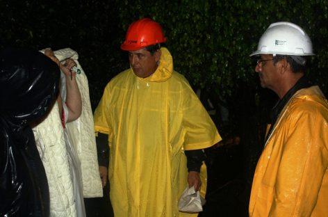Alarma provocó desbordamiento de arroyos en la ciudad de Oaxaca
