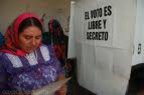 Exigen transparencia en elecciones por Usos y Costumbres en Oaxaca