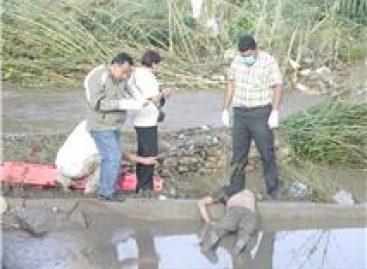 Hallan cadáver en el Río Atoyac; en calidad de desconocido