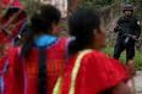 Exigen al MULTI no burlarse de la desaparición de dos indígenas triquis