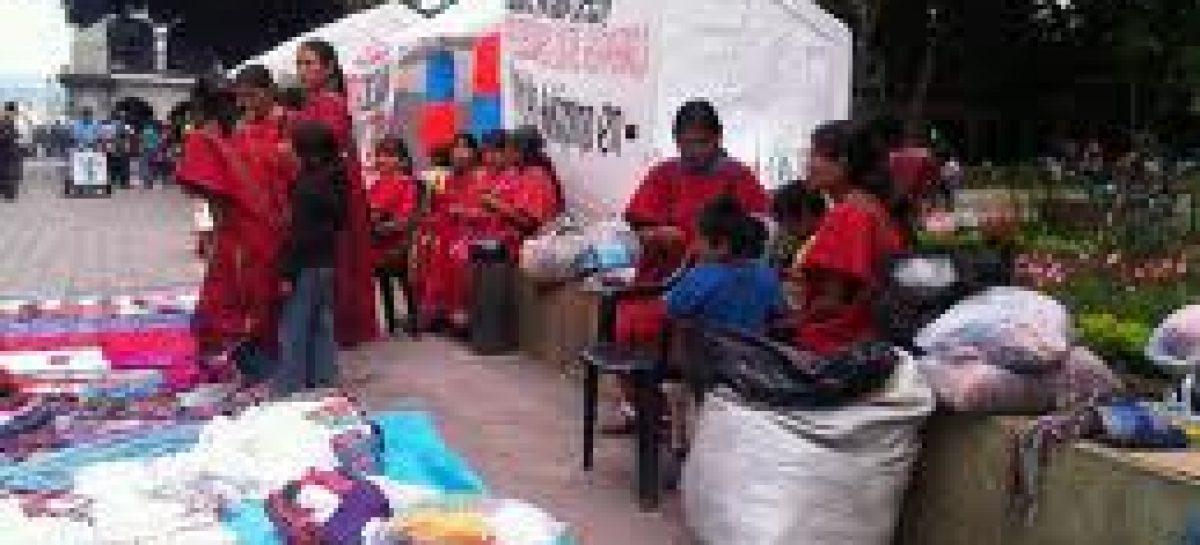 Levantan huelga de hambre niños y mujeres triquis