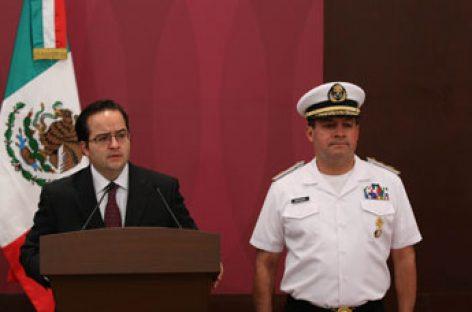 La Marina aprende a Sergio Villareal Barragán alias El Grande principal operador de los Beltrán  Leyva