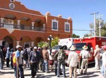 Pueblos en resistencia se dirigen hacia el Zócalo de Oaxaca