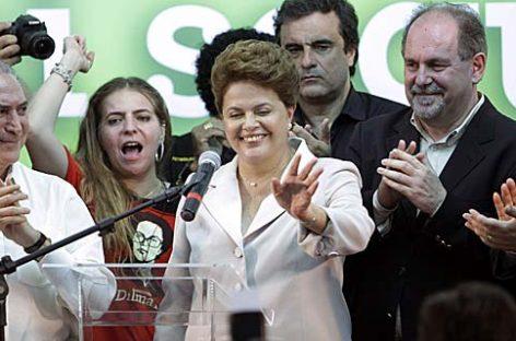 Dilma, primera presidenta de Brasil: 'Sabré honrar el legado de Lula'