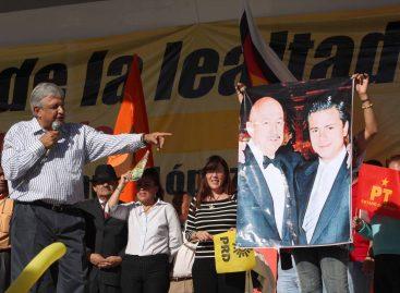 Denunciará AMLO ante la CIDH al Tribunal Electoral por el retiro de spots del PT
