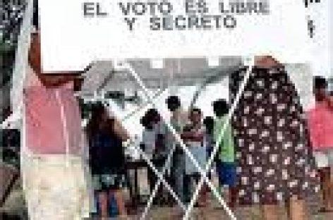 Exigen derecho a votar y ser votados en Xanaguia, Ozolotepec