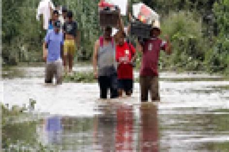 Desastre natural en 42 municipios de Oaxaca y Chiapas