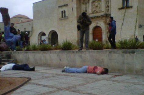 """Ejecutan a Rubén Marmolejo (a) """"El Dragón"""" y a José María González Porras """"El Güero"""", frente a Santo Domingo"""