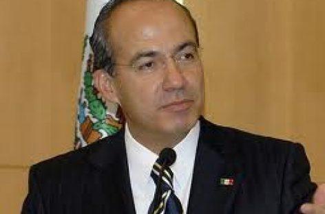 Calderón se reunirá con gobernadores en Chihuahua