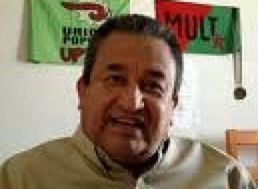 Dan último adios a dirigente del MULT, Heriberto Pazos Ortiz