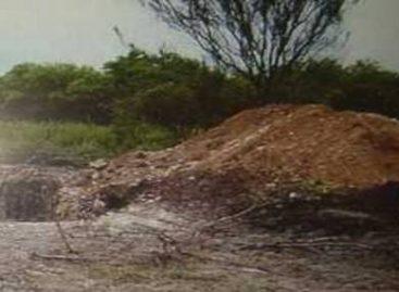 Hallan narcofosa sobre carretera a Tuxtepec