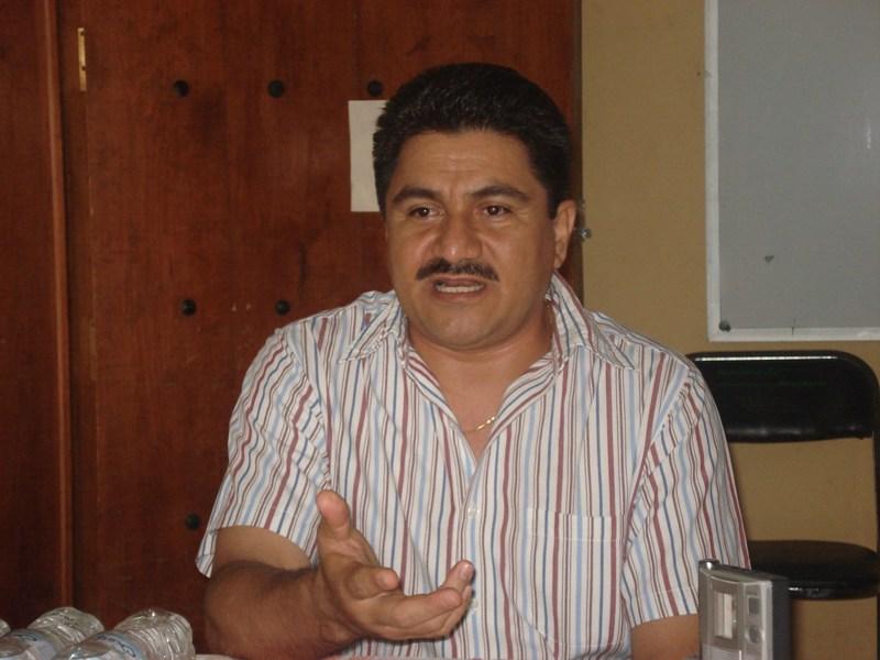 Wilfrido Mayrén confía en que la paz vuelva a la región triqui.