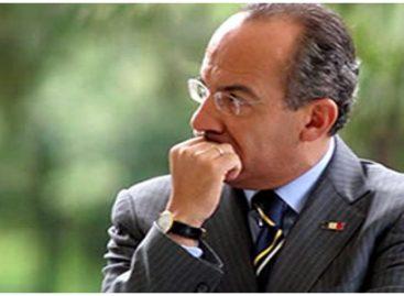 Propone Calderón crear frente de naciones contra el crimen