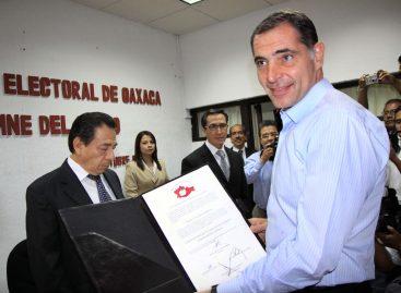 Declara Tribunal Electoral Gobernador Electo 2010-2016 a Gabino Cué