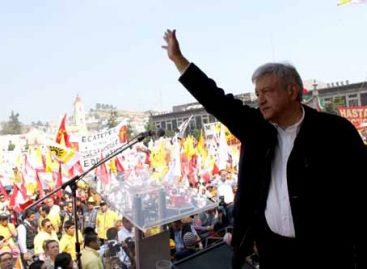 <em><strong>Concluye AMLO gira en Estado de México; dice no a alianza PAN –PRD </strong></em>