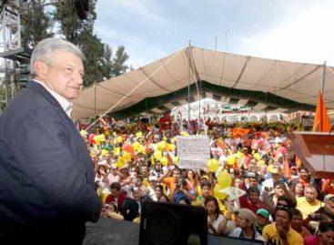 <strong>Llega López Obrador a Oaxaca el domingo </strong>