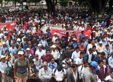 Suspende Antorcha Campesina marcha a Segob