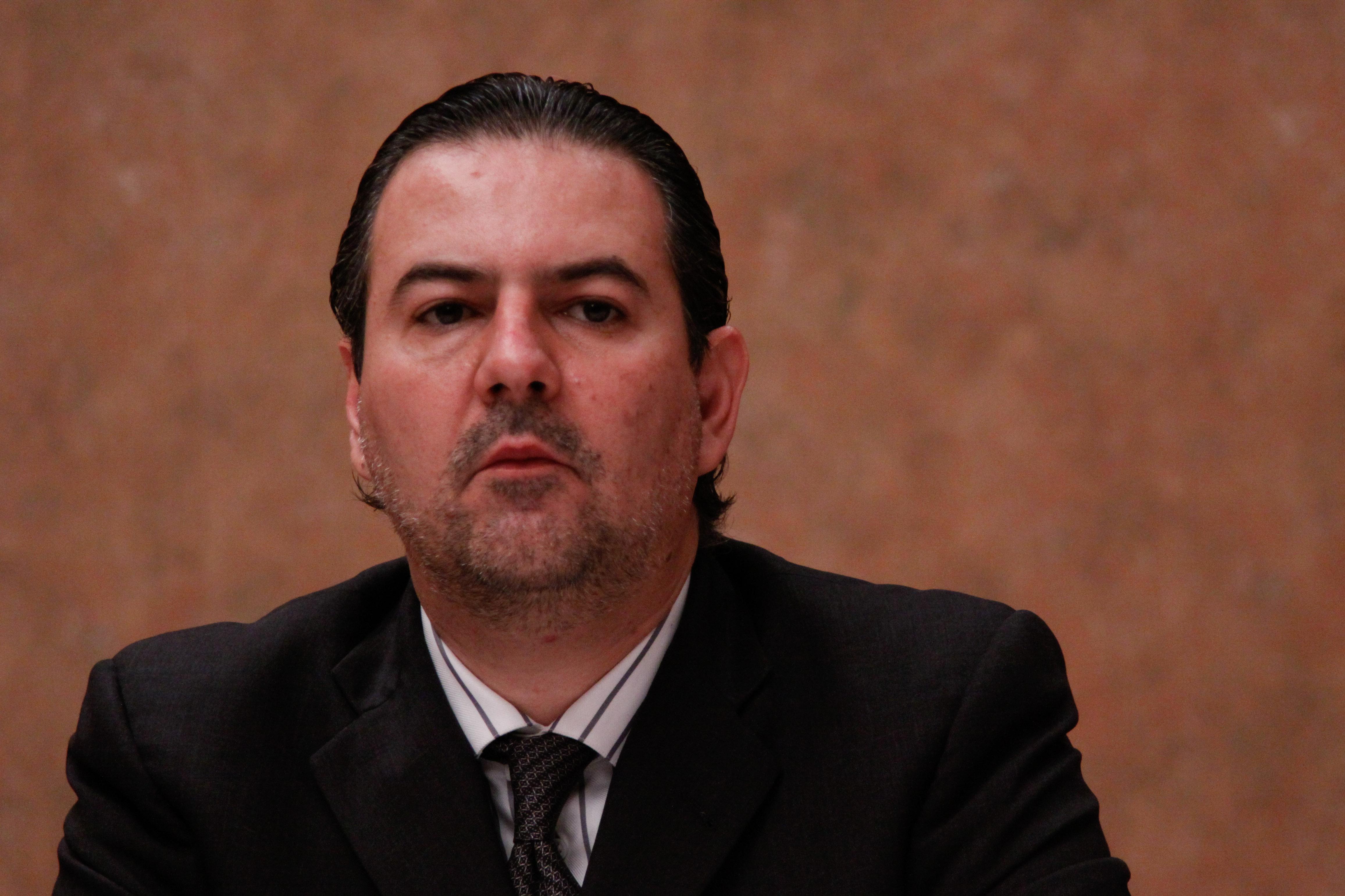 La XXXVIII Convención Nacional IMEF 2010 se realizó en Huatulco. En la foto, Gerardo Gutiérrez Candiani.