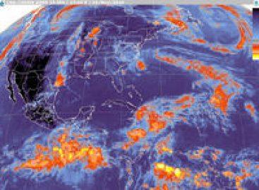 """<strong>Masa de aire polar favorece bajas temperaturas en los estados del interior de la Mesa del Norte y la Mesa Central, además de """"Norte"""" moderado a fuerte en el Golfo de México e Istmo y Golfo de"""