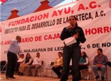 Piden castigo a defraudadores de cajas de ahorro en la Mixteca