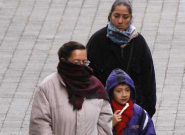 Pronostican para Oaxaca temperaturas de 0 a 5 grados