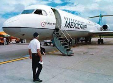 <strong>Mexicana emprende vuelo</strong>