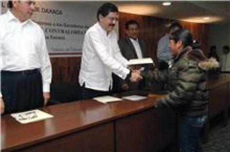En México, destaca Oaxaca en el manejo responsable y transparente de sus recursos